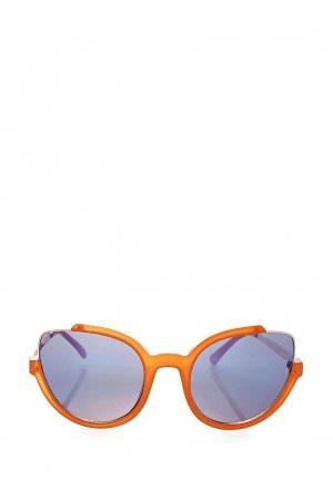 Очки солнцезащитные Topshop. Цвет: оранжевый