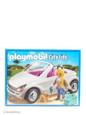 Особняки Шикарный кабриолет Playmobil. Цвет: белый