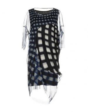Платье до колена ZUCCA. Цвет: черный