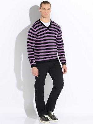 Пуловер VON DUTCH. Цвет: фиолетовый