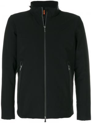 Куртка-пуховик на молнии Rrd. Цвет: чёрный