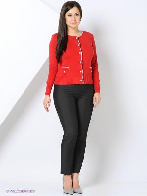 Жакет KTF Collection. Цвет: красный
