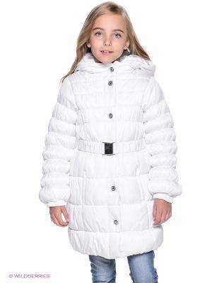 Пальто PlayToday. Цвет: белый
