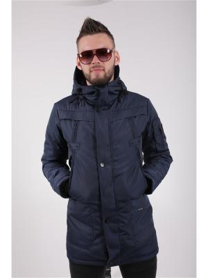 Куртка Nikolom. Цвет: темно-синий