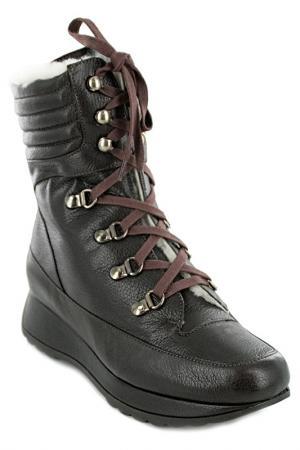 Ботинки высокие STEPHANE KELIAN. Цвет: коричневый