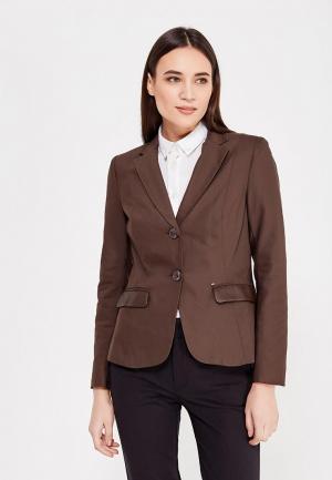 Пиджак Camomilla Italia. Цвет: коричневый