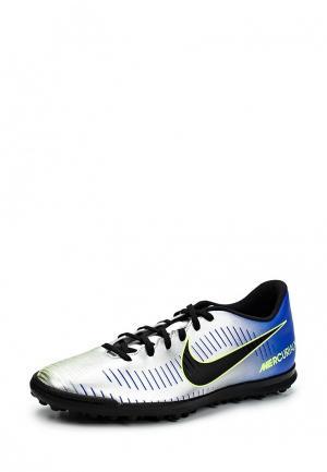 Шиповки Nike. Цвет: серебряный