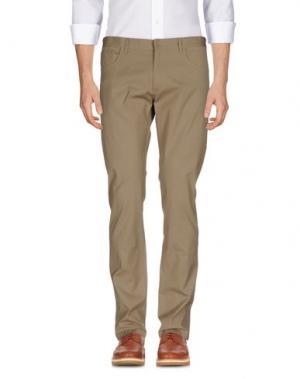 Повседневные брюки GENTRYPORTOFINO. Цвет: песочный