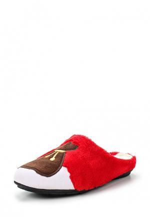 Тапочки Costa. Цвет: красный