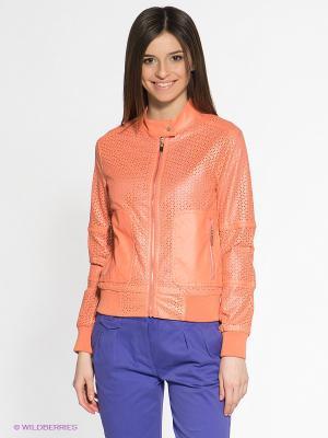 Куртка People. Цвет: светло-коралловый