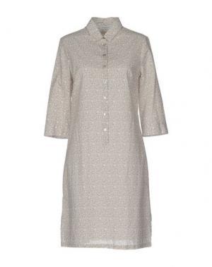 Короткое платье ZANETTI 1965. Цвет: хаки