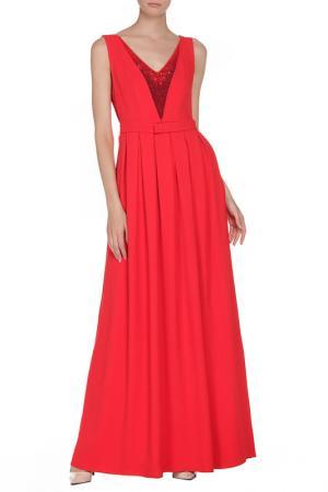 Платье вечернее Frankie Morello. Цвет: красный