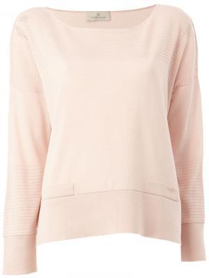 Топ с перфорированным дизайном Maison Ullens. Цвет: розовый и фиолетовый