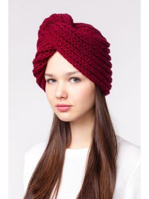 Чалма EMMY. Цвет: бордовый
