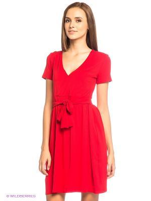 Платье L.A.S. Цвет: красный