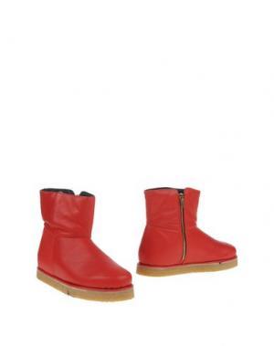 Полусапоги и высокие ботинки PAUSE. Цвет: красный