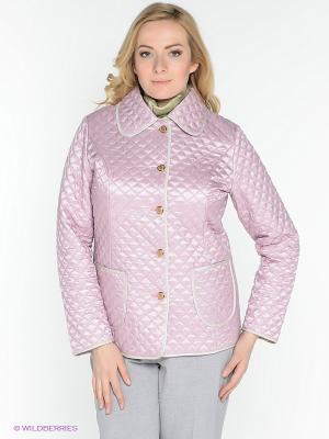 Куртка X'cluSIve. Цвет: бледно-розовый