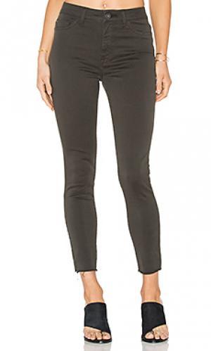 Ультра узкие джинсы высокой посадки no.2 DL1961. Цвет: none
