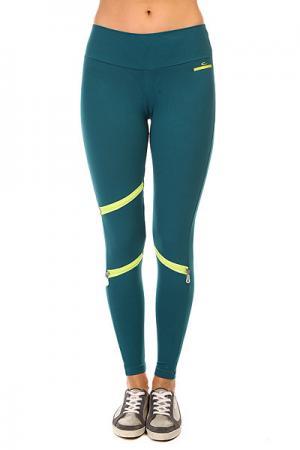 Леггинсы женские  New Zealand Legging Green CajuBrasil. Цвет: зеленый