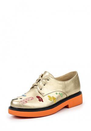 Ботинки Dino Ricci Trend. Цвет: золотой