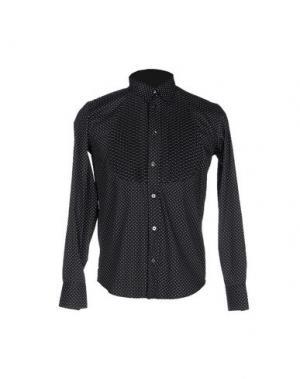 Pубашка DEPARTMENT 5. Цвет: черный