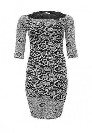Платье Kitana by Rinascimento. Цвет: черно-белый