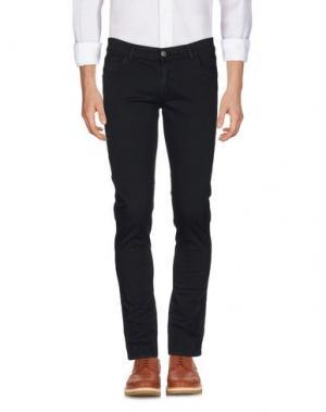 Повседневные брюки GREY DANIELE ALESSANDRINI. Цвет: темно-синий
