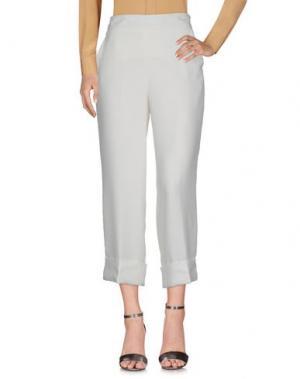 Повседневные брюки BLANCA. Цвет: белый