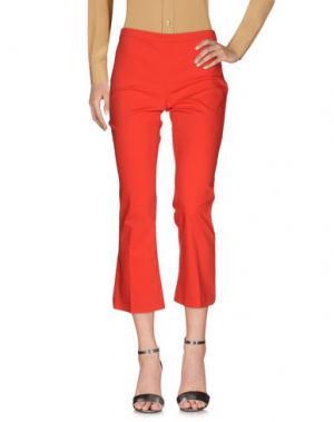 Повседневные брюки FASHION. Цвет: красный