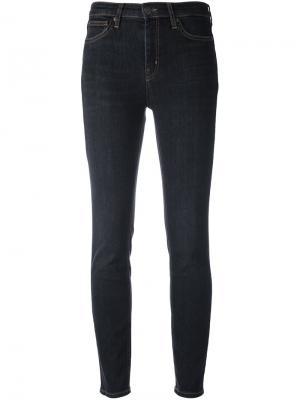 Узкие джинсы Bridge Mih Jeans. Цвет: серый