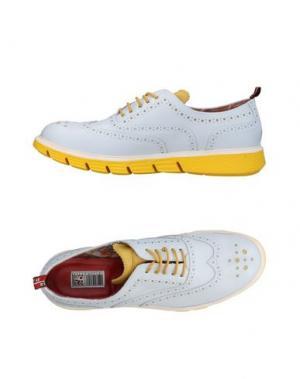 Обувь на шнурках YAB. Цвет: белый