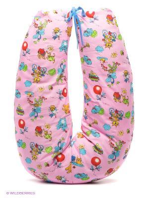 Подушка для беременных и кормящих ФЭСТ. Цвет: розовый, бледно-розовый