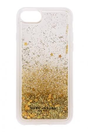 Чехол для iPhone 7 Marc Jacobs. Цвет: золотой