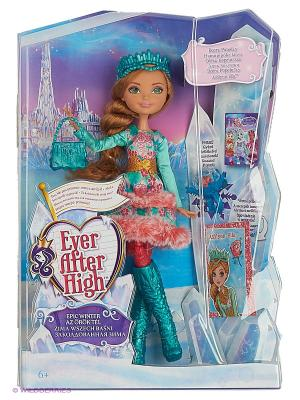 Кукла Заколдованная зима Эшлин Элла. Ever after High. Цвет: бирюзовый, красный