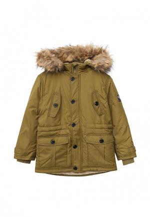 Куртка утепленная Sela. Цвет: хаки