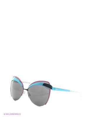 Солнцезащитные очки CHRISTIAN DIOR. Цвет: черный, голубой