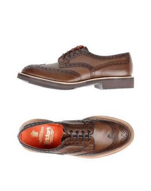 Обувь на шнурках TRICKER'S. Цвет: коричневый