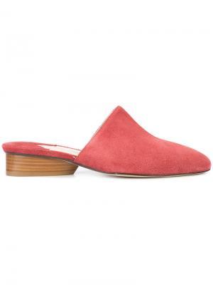 Мюли Perugia Paul Andrew. Цвет: розовый и фиолетовый
