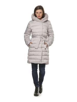 Пальто HELMIDGE. Цвет: светло-серый