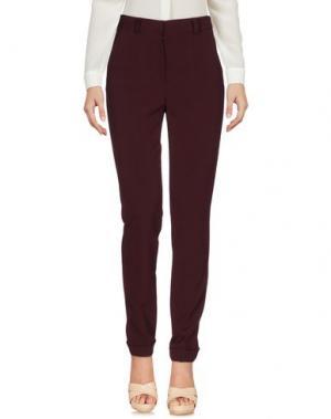 Повседневные брюки F.IT. Цвет: баклажанный
