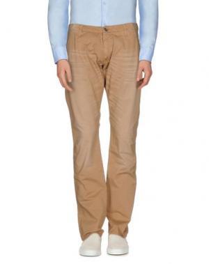 Повседневные брюки REIGN. Цвет: песочный