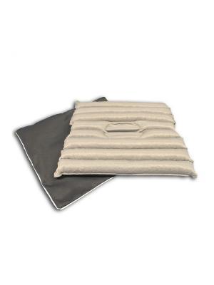 Гемо-комфорт Офис 50х50 подушка на сидение SMART-TEXTILE. Цвет: серый