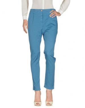 Повседневные брюки NOVEMB3R. Цвет: пастельно-синий