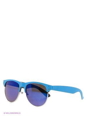 Солнцезащитные очки Vittorio Richi. Цвет: голубой