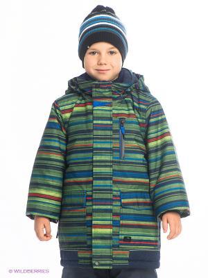 Куртка Jupa. Цвет: темно-синий, зеленый, красный