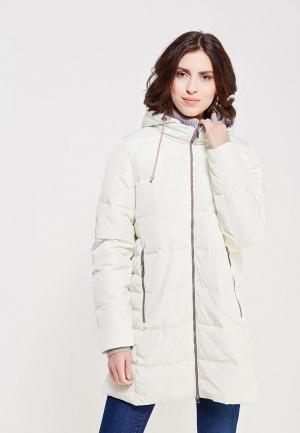 Куртка утепленная Time For Future. Цвет: белый