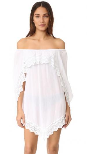 Пляжное платье Gold Coast Peixoto. Цвет: белый
