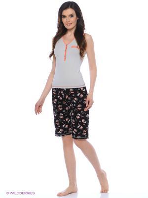 Комплект Milana Style. Цвет: серый