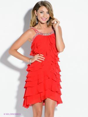 Платье X'Zotic. Цвет: красный