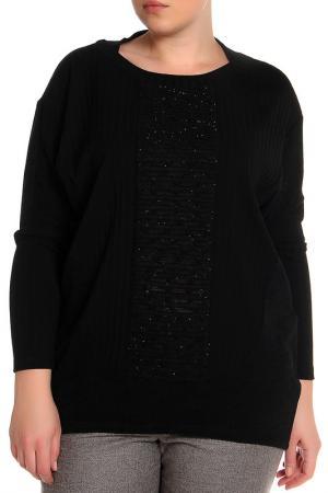 Джемпер EVA Collection. Цвет: черный